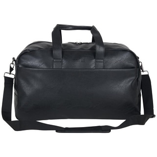 Link to Kenneth Cole Reaction 20-inch Vegan Leather Top Zip Travel Duffel Bag / Carry-On Similar Items in Duffel Bags