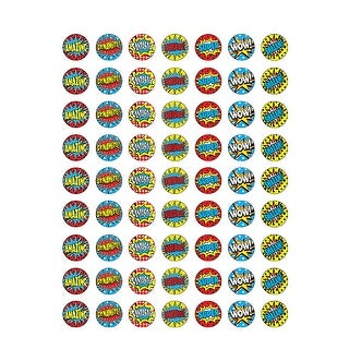 (12 Pk) Superhero Mini Stickers
