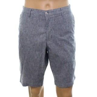 Hugo Boss NEW Blue Men's Size 36 Crigan Regular Fit Chino Shorts