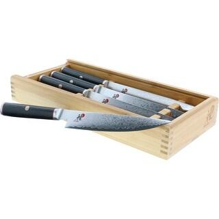 Miyabi Kaizen 4-pc Steak Knife Set - Black/Stainless Steel