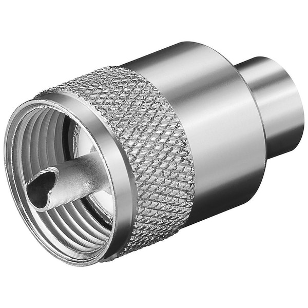 Glomex PL259 Male Connector f/RG58 C/U Coax Cable