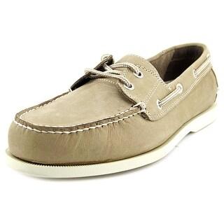 Dockers Vargas Men Moc Toe Leather Boat Shoe