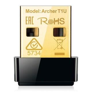 Tp-Link Usa Corporation - Ac450 Wireless Nano Usb Adapter, Nano Size, Mediatek, 1T1r, 433Mbps At 5Ghz, 802