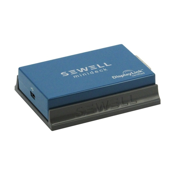 Sewell Minideck USB to DVI, VGA and HDMI Display Adapter