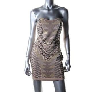 Ruby Rox Womens Juniors Clubwear Dress Strapless Padded Bust