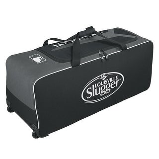 Wilson Louisville Slugger Series 5 Ton Wheeled Equipment Bag (Black)