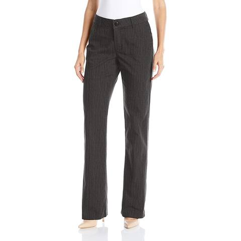 Lee Platinum Women's Madelyn Straight-Leg Trousers Carbon Rinse Size 2M - Grey - 2