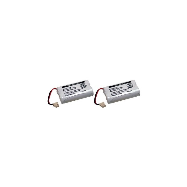 Replacement For VTech BT175242 Cordless Phone Battery (400mAh, 3.6V, NiCD) - 2 Pack