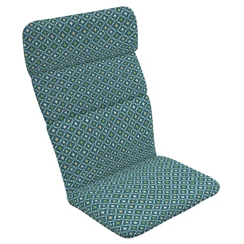 Arden Selections Alana Tile Outdoor Adirondack Cushion - 45.5 in L x 20 in W x 2.25 in H