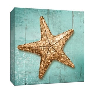 "PTM Images 9-146831  PTM Canvas Collection 12"" x 12"" - ""Starfish"" Giclee Sea Animals Art Print on Canvas"