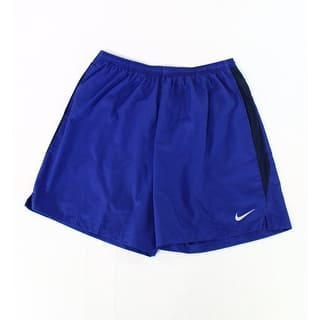 Nike NEW Royal Blue Mens Size XL Drawstring Solid Dri-Fit Soccer Shorts|https://ak1.ostkcdn.com/images/products/is/images/direct/19c1e1fa7405d528741f37bdd9b01bf8eb43ae56/Nike-NEW-Royal-Blue-Mens-Size-XL-Drawstring-Solid-Dri-Fit-Soccer-Shorts.jpg?impolicy=medium