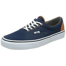 Vans Unisex Era Sneakers, (C&L) Dress Blues/Tweed, Men's 8.5, Women's 10 Medium