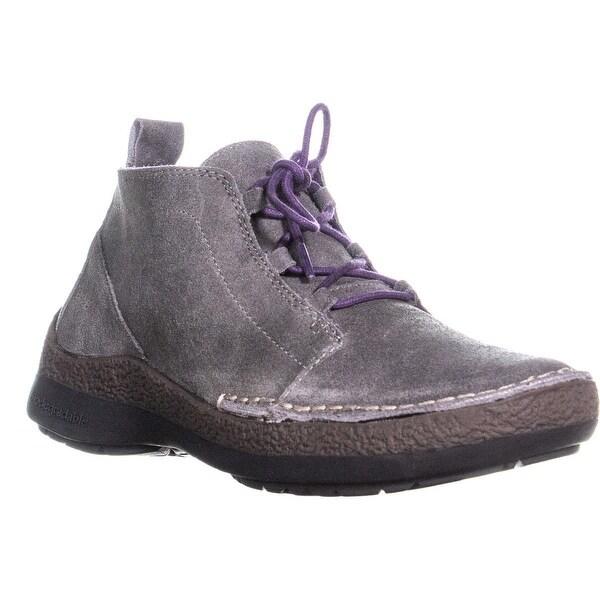 cba3bc5125f Shop Jambu Madison Lace Up Ankle Oxford Boots, Charcoal - 8 us / 39 ...