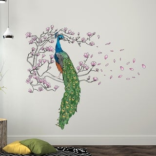 Link to Walplus Wall Sticker Decal Wall Art Peacock Magnolia Tree Home Decor Similar Items in Vinyl Wall Art