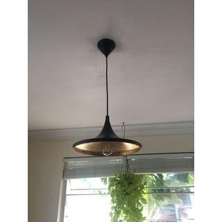 "Safavieh Lighting 14.25-inch Bowman Adjustable Edison Bulb Pendant - 14.25"" x 14.25"" x 15-47"""