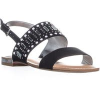 Carlos By Carlos Santana Verity Flat Sandals, Black