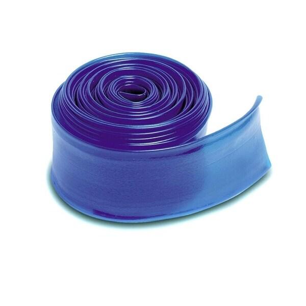 """25' x 1.5"""" Transparent Blue Swimming Pool Filter Backwash Hose - N/A"""