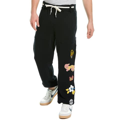Palm Angels Patched Sweatpant