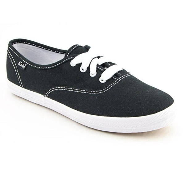 Keds Champion Oxford CVO Women Round Toe Canvas Black Sneakers