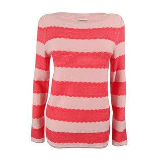 Tommy Hilfiger Women's Striped Pullover Cotton Sweater