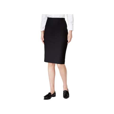 MaxMara Womens Pencil Skirt Wool Split Hem