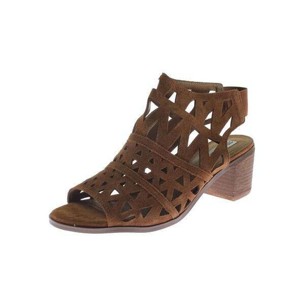 Steve Madden Womens Estee Dress Sandals Open Toe Caged