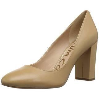 81f0ad7c7 Sam Edelman Womens stillson Leather Round Toe Classic Pumps