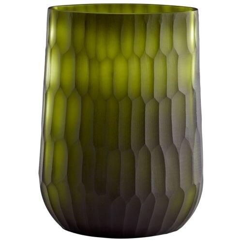 Cyan Design Large Reptilia Vase Reptilia 11.75 Inch Tall Glass Vase