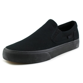 DC Shoes Trase Slip-On TX Men Round Toe Canvas Skate Shoe