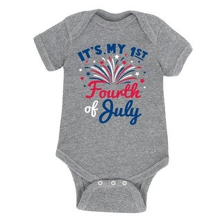 It's My First Fourth Of July - Infant One Piece (4 options available)