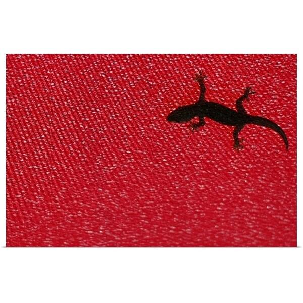 """""""Little lizard."""" Poster Print"""