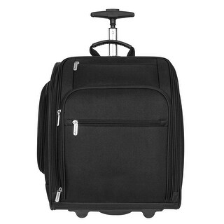 Travelon 14 inch Wheeled Carry-On Bag - Black