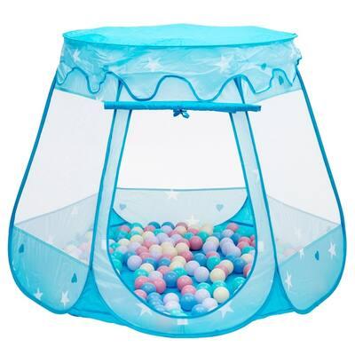 Kid Outdoor Indoor Princess Play Tent Playhouse Ball Tent Blue