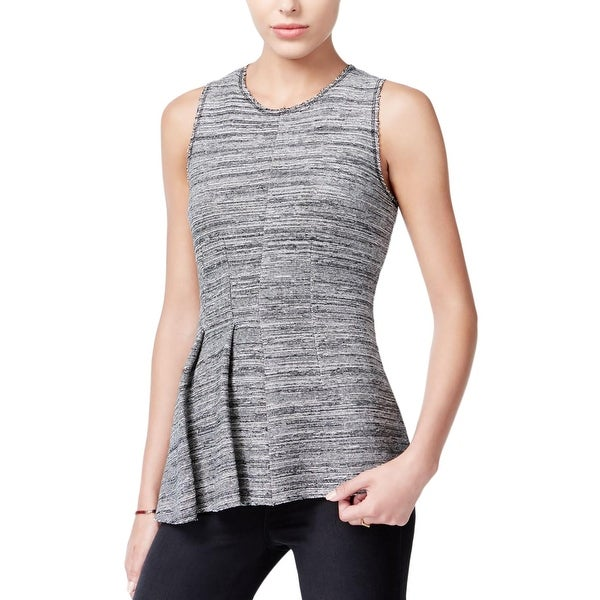 f0485b64cf11e4 Shop Rachel Roy Womens Tank Top Pleat-Detail Textured - Free Shipping On  Orders Over $45 - Overstock - 18403948