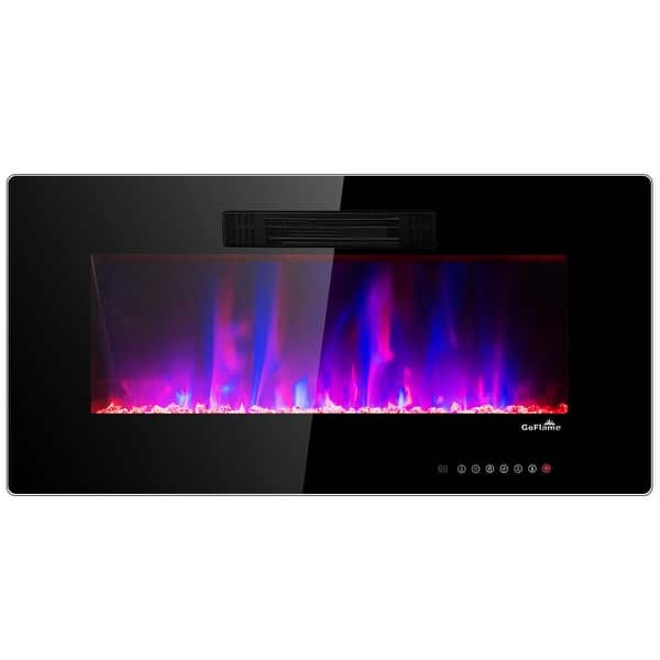 Shop 50 Recessed Electric Fireplace In Wall Wall Mounted Electric