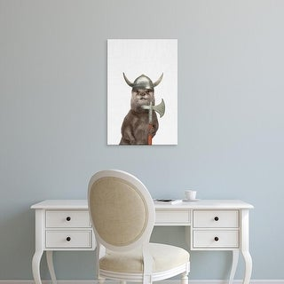 Easy Art Prints Tai Prints's 'Otter' Premium Canvas Art