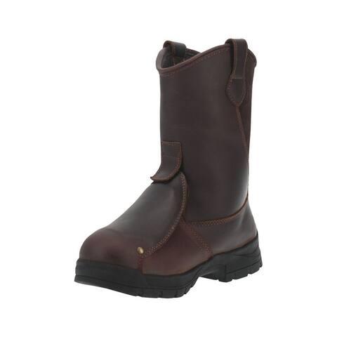 Dan Post Western Boots Mens External MET Guard Alloy Brown