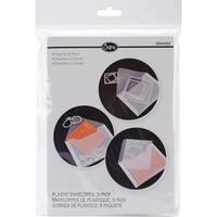 "6.875""X5"" - Sizzix Plastic Envelopes 3/Pkg"