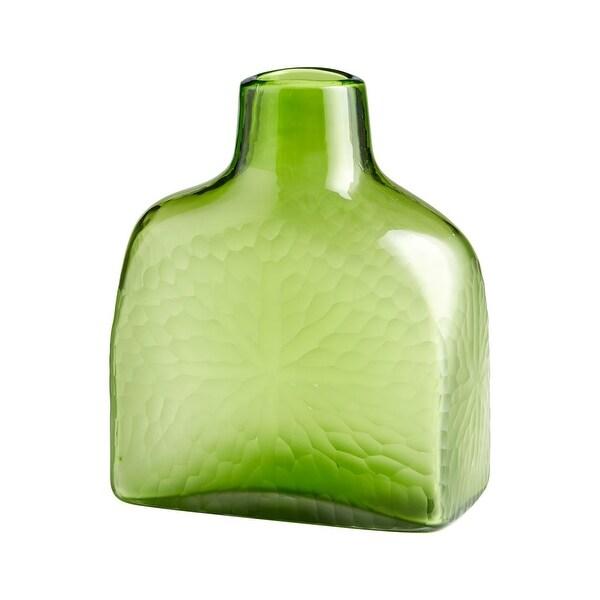 Shop Cyan Design Small Marine Green Vase Marine Green 1125 Inch