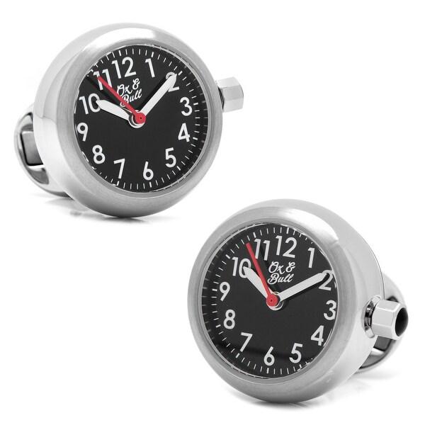 Stainless Steel Watch Cufflinks