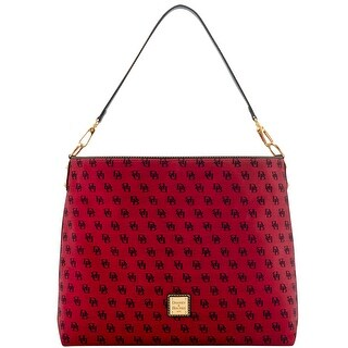 Dooney & Bourke Madison Signature Giant Sac (Introduced by Dooney & Bourke at $268 in Jul 2016) - Cranberry
