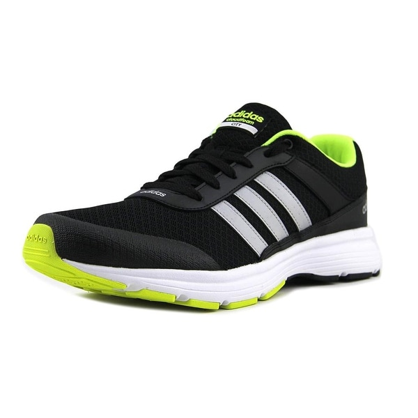 the latest 716eb b4bbb Adidas Cloudfoam VS City Men BlackSilverYellow Sneakers Shoes
