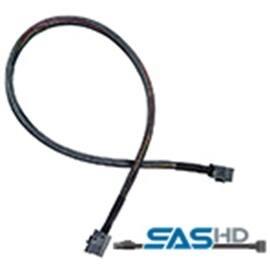 Adaptec Cable 2282200-R 5m Mini Serial SCSI/4xHD SFF-8643 to Mini Serial SCSI HD Bare
