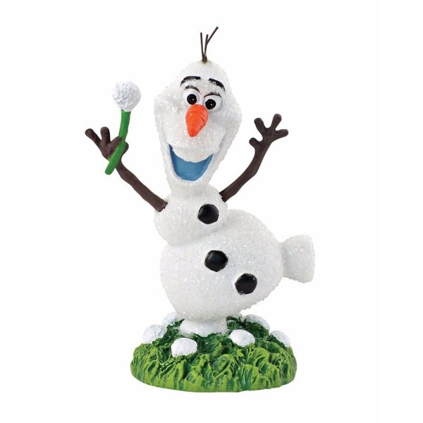 "Department 56 Decorative Disney Frozen ""Olaf In Summer"" Christmas Figurine #4048966 - WHITE"