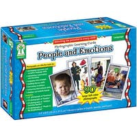 People And Emotions Learning Card Set