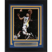 Stephen Curry Framed 8x10 Golden State Warriors Layup Photo