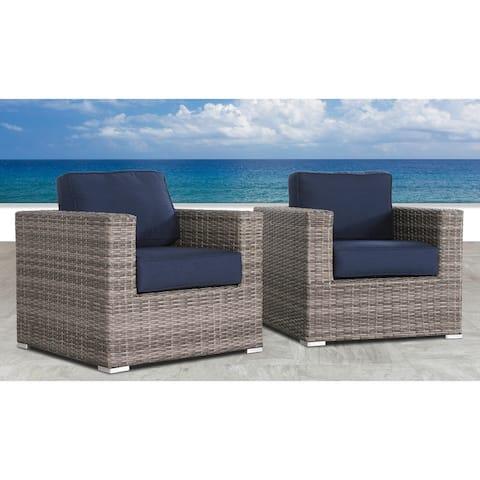 Resort Grade Club Patio Chair with Sunbrella Cushions