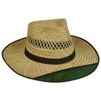 Outdoor Cap Mens Straw Hat - Tinted 3' Brim 1 Size