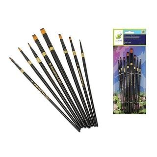 Multicraft Oriental Art Brush Set Flat 8pc