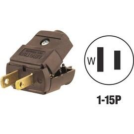 Leviton Brn Cord Plug